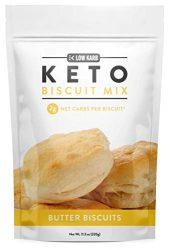 Low Karb – Keto Biscuits Mix – Low Carb Food – Easy to Bake – Perfect for Breakfast – Only 2g Net Carbs (Butter) (11.3 oz) (1 Count)