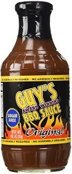 Guy's Award Winning Sugar Free BBQ Sauce 18 oz (Original)