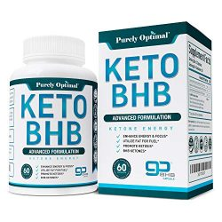Premium Keto Diet Pills – Utilize Fat for Energy with Ketosis – Boost Energy & Focus, Manage Cravings, Support Metabolism – Keto BHB Supplement for Women and Men – 30 Day Supply