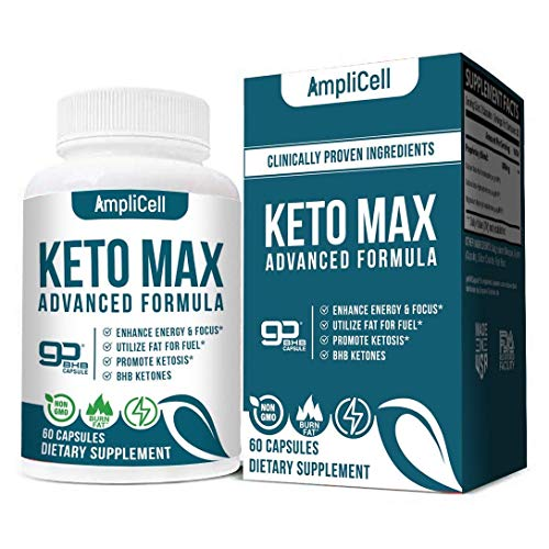 Premium Keto Diet Pills – Utilize Fat for Energy with Ketosis – Boost Energy & Focus, Support Metabolism, Manage Cravings – Keto BHB Supplement for Women and Men – 30 Day Supply