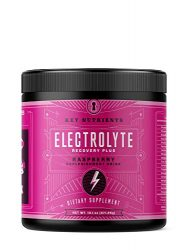 Electrolyte Powder, Raspberry Hydration Supplement: 90 Servings, Carb, Calorie & Sugar Free, Delicious Keto Replenishment Drink Mix. 6 Key Electrolytes – Magnesium, Potassium, Calcium & More.