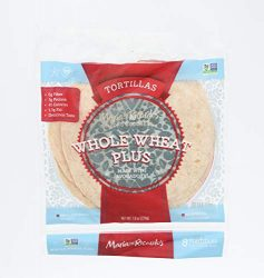 Maria & Ricardos, Tortillas Whole Wheat Low Carb 6 Inch, 7.9 Ounce