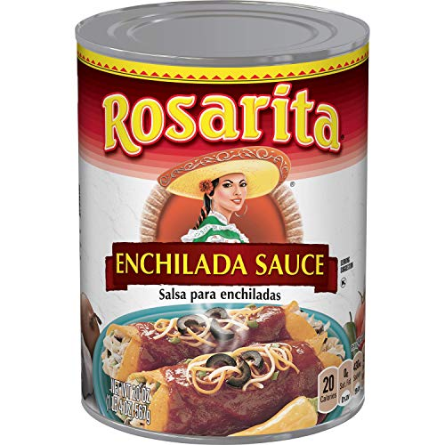 Rosarita Enchilada Sauce, Keto Friendly, 1.25 Pound (Pack of 12)